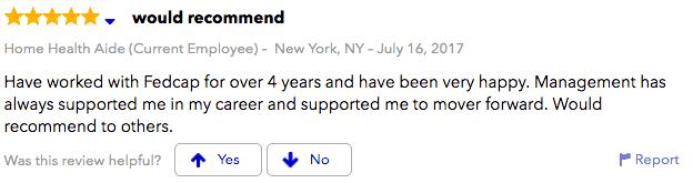 Fedcap Brooklyn NY review 2