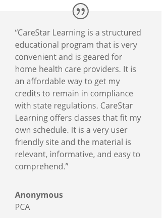 CareStar Learning LLC review