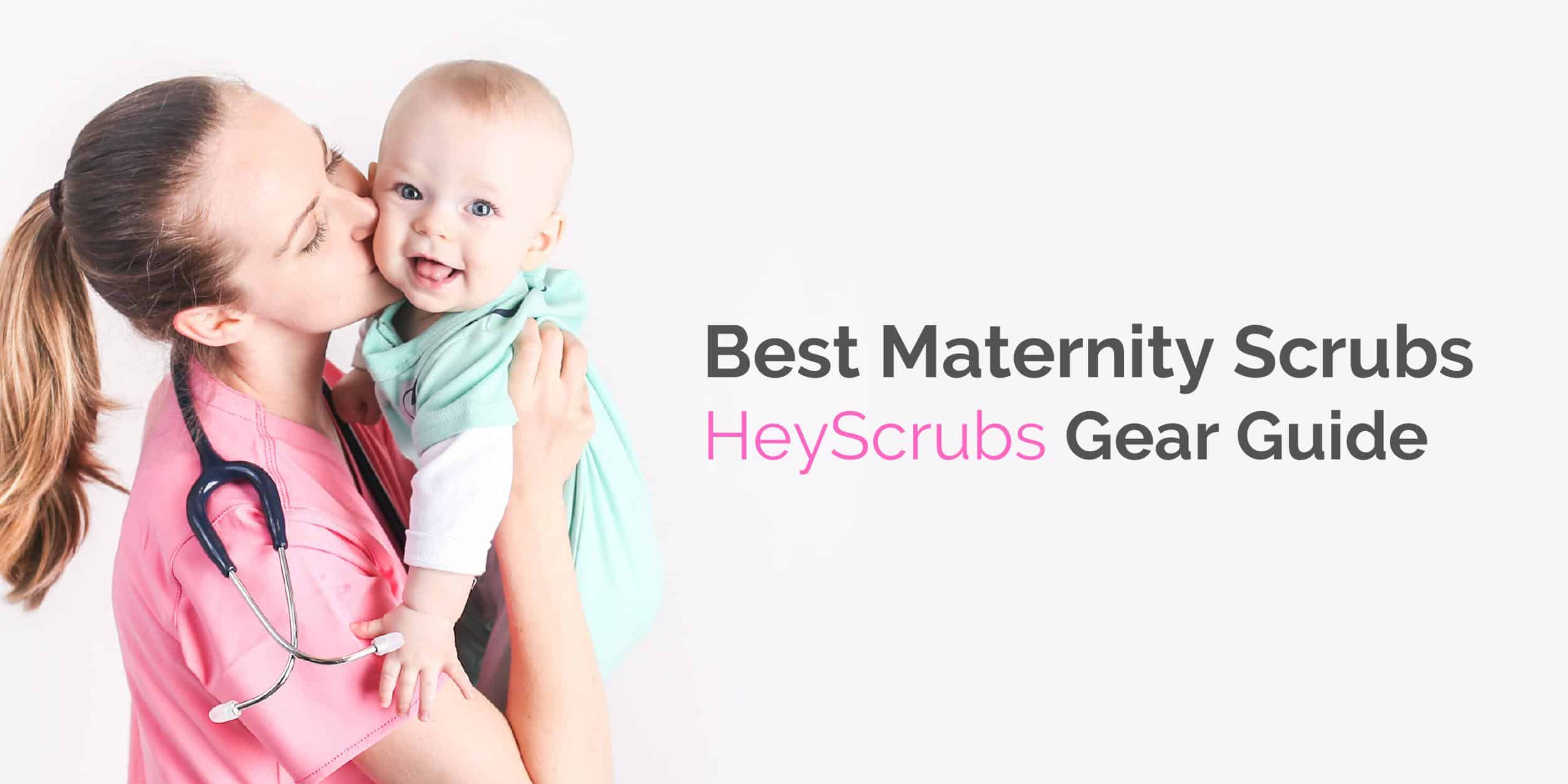 best maternity scrubs