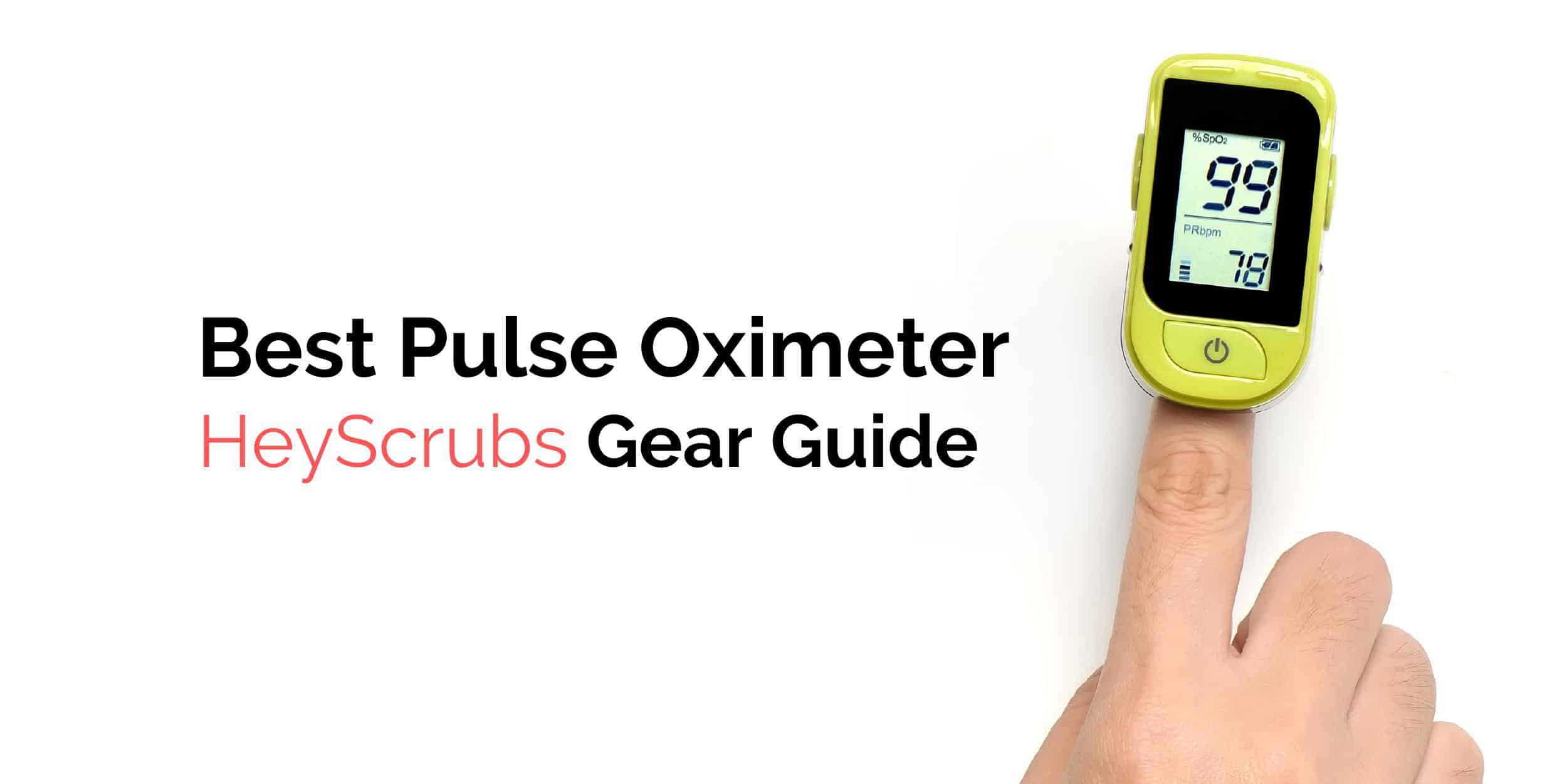 best finger pulse oximeter for nurses